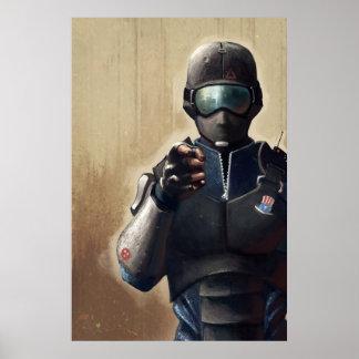 Nuclear Dawn - CT Assault Classic Art Poster