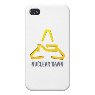Nuclear Dawn - Logo iPhone 4 Case