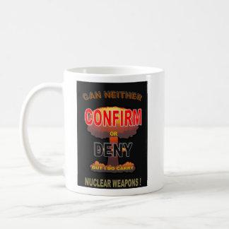 NUCLEAR DECLARATION COFFEE MUG