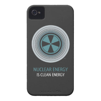Nuclear Energy Is Clean Energy iPhone 4 Cases
