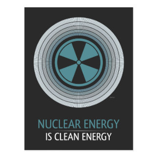 Nuclear Energy Is Clean Energy Postcard