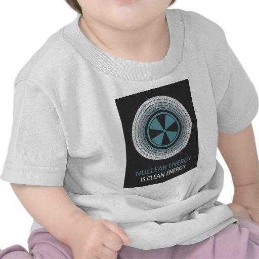 Nuclear Energy Is Clean Energy Tshirt