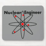 Nuclear Engineer T-shirts and Gifts Mouse Pad