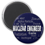 Nuclear Engineer Terminology Gifts Magnet