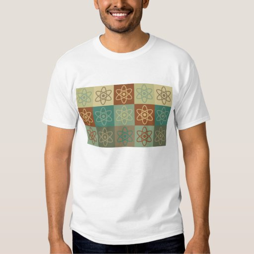 Nuclear Engineering Pop Art Tee Shirt