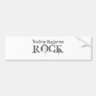 Nuclear Engineers Rock Bumper Stickers