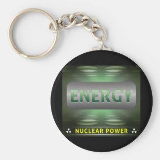 Nuclear es la energía limpia llavero