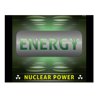 Nuclear es la energía limpia postal