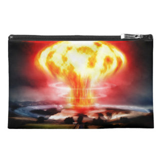 Nuclear Explosion Travel Accessory Bags