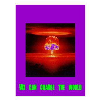 nuclear-explosion postcard