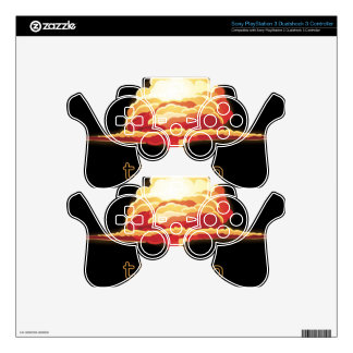 Nuclear Explosion PS3 Controller Skins