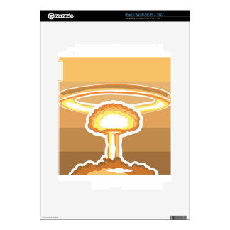 Nuclear Explosion vector Decals For The iPad 2