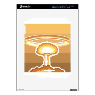 Nuclear Explosion vector iPad 3 Skins