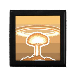 Nuclear Explosion vector Keepsake Box