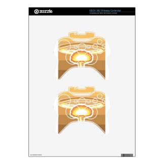 Nuclear Explosion vector Xbox 360 Controller Skin