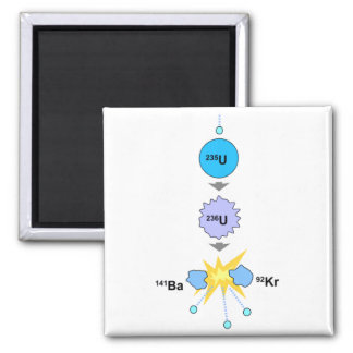 Nuclear Fission Refrigerator Magnets