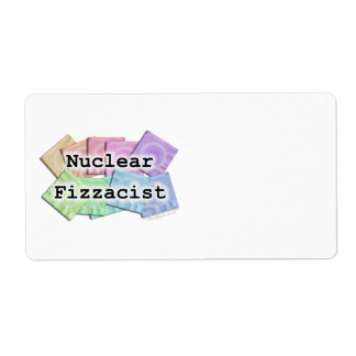 NUCLEAR FIZZACIST Avery LABELS