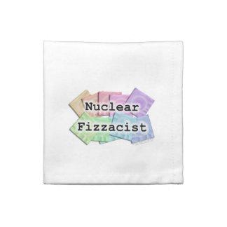 Nuclear Fizzacist Bartender American MoJo Napkin