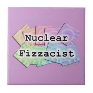 Nuclear Fizzacist Bartender Coaster Tile