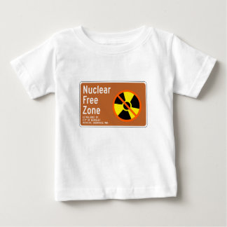 Nuclear Free Zone, Sign, California, US Baby T-Shirt
