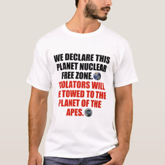Nuclear Free Zone T-Shirt