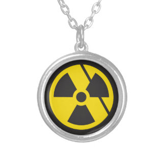 Nuclear Fury Round Pendant Necklace