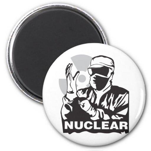 Nuclear Imán Redondo 5 Cm