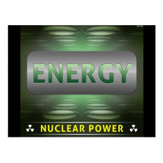 Nuclear Is Clean Energy Postcard