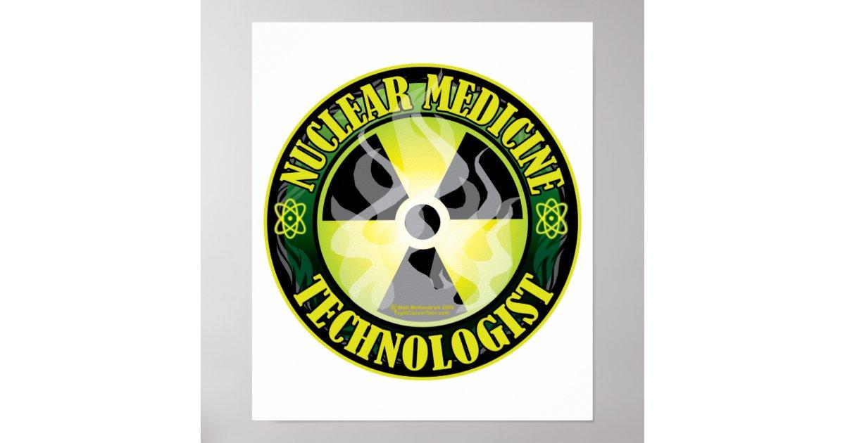 Nuclear Medicine Tech 2 Poster Zazzle