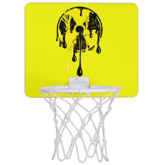 Nuclear meltdown mini basketball hoop