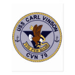 Nuclear multiusos de CVN-70 CARL VINSON Postal