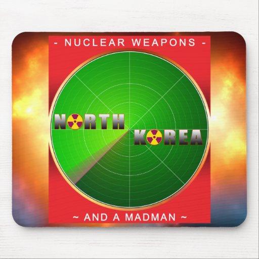 Nuclear North Korea Mouse Pad