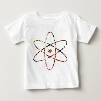 Nuclear Nucleas -  Red Sparkle Design Baby T-Shirt
