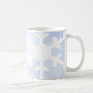 Nuclear Physics Penguin + Snowflake Coffee Mug