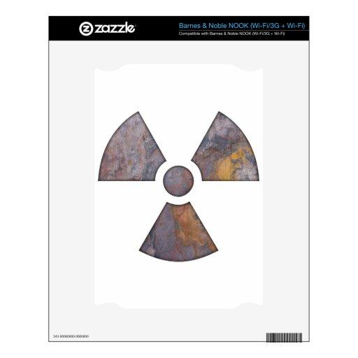 Nuclear - pinte la textura calcomanías para el NOOK