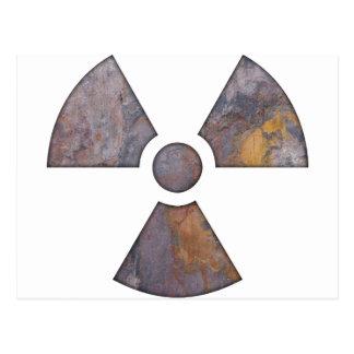 Nuclear - pinte la textura tarjeta postal
