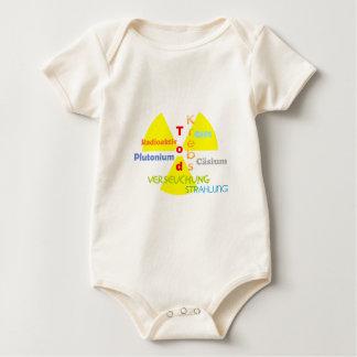 Nuclear power death plutonium radiation baby bodysuit