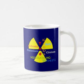 Nuclear power death plutonium radiation coffee mug