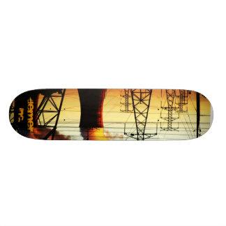 Nuclear Power Lines Skateboard Deck