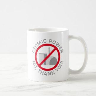 nuclear power - NO thank you Coffee Mug