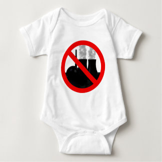 Nuclear power NO THANKS Baby Bodysuit