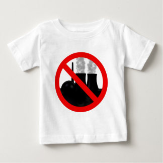 Nuclear power NO THANKS Baby T-Shirt