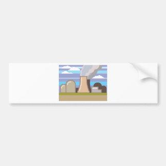 Nuclear Power Plant Bumper Sticker