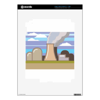 Nuclear Power Plant Decals For The iPad 2