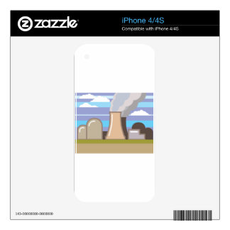 Nuclear Power Plant Decals For The iPhone 4