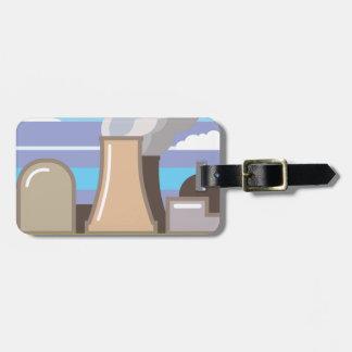 Nuclear Power Plant Luggage Tag