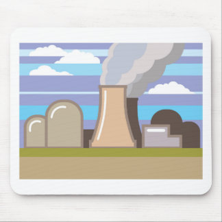 Nuclear Power Plant Mouse Pad