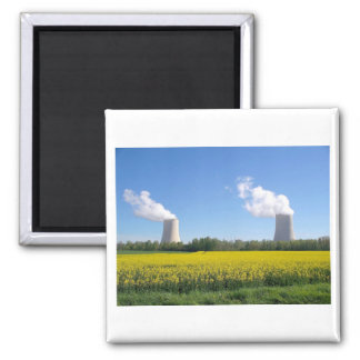 Nuclear power seedling - Nuclear power plant Magnet