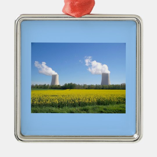 Nuclear power seedling - Nuclear power plant Metal Ornament