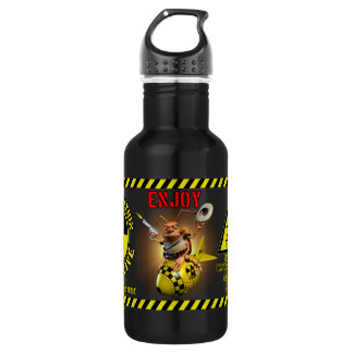 Nuclear Power Stainless Steel Water Bottle